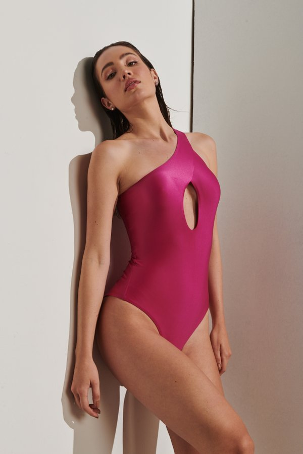 Foto do produto Body Diani Magenta | Diani One-Piece Magenta