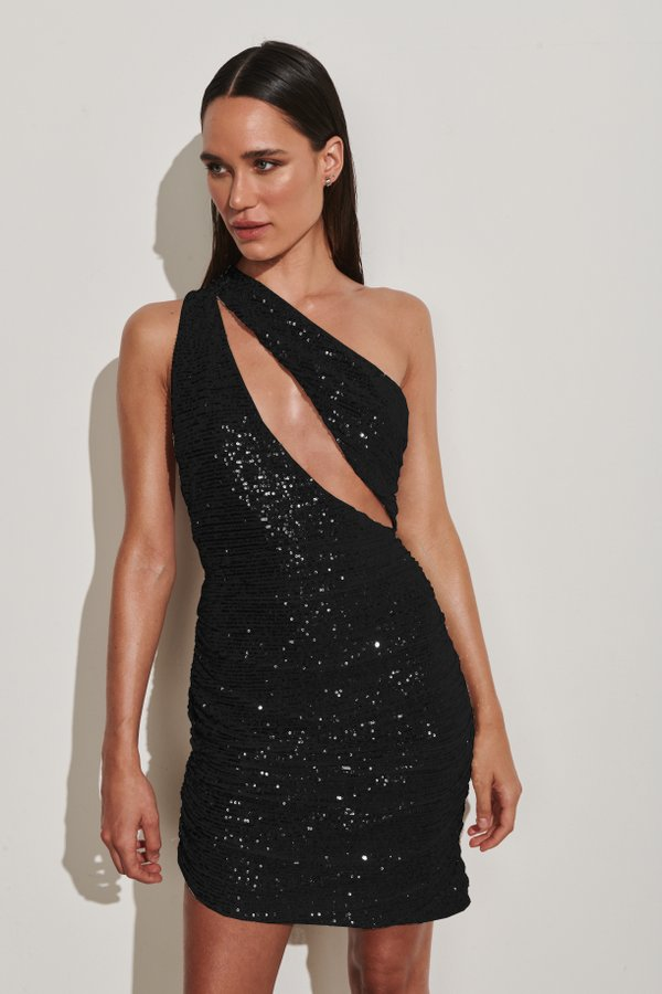 Foto do produto Vestido Barbados Paetê Preto | Barbados Dress Black Sequin