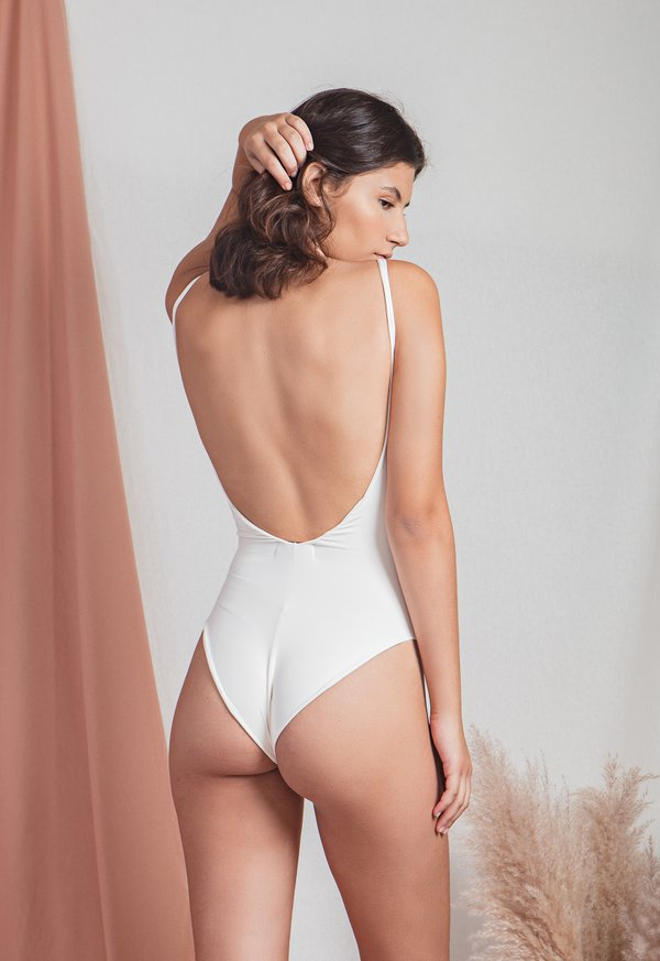 Foto do produto BODY LAS PERLAS - OFF WHITE