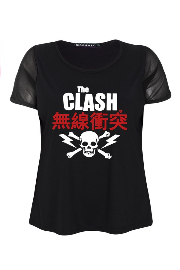 Foto do produto T-SHIRT THE CLASH