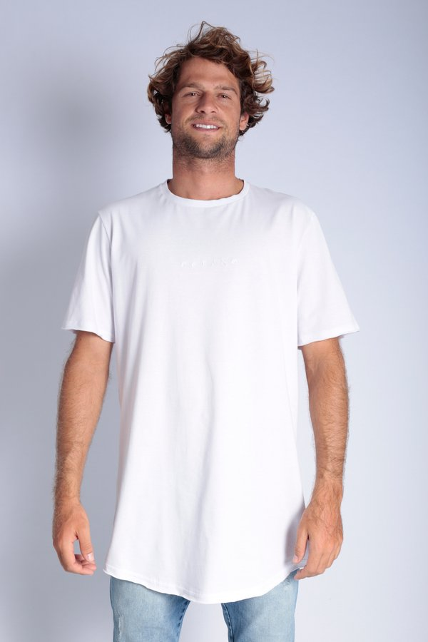 CAMISETA OCEANO LONG FIT BASIC CONFORT