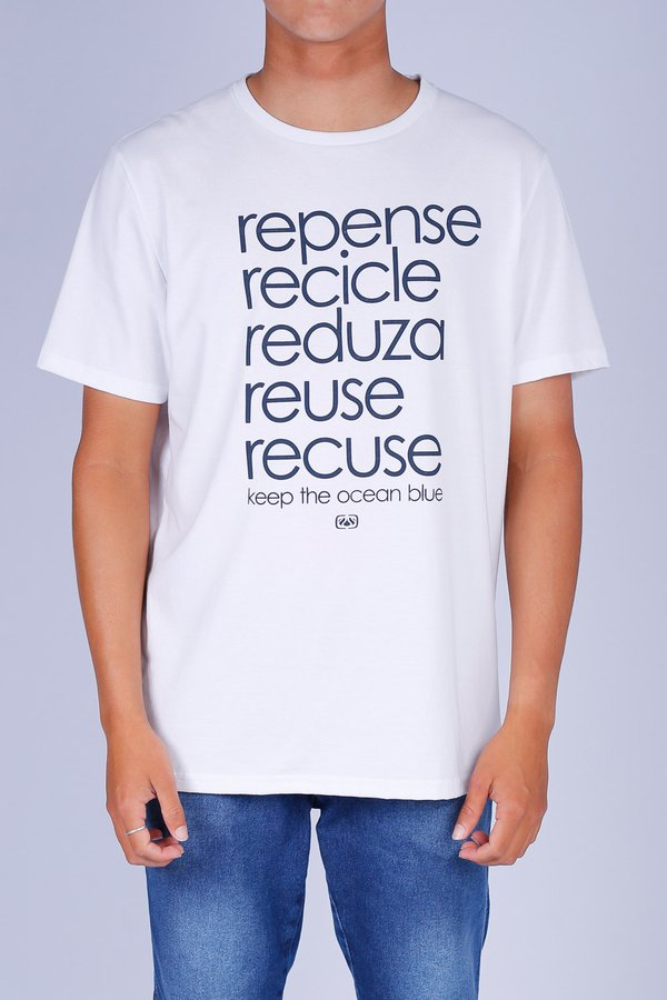 CAMISETA OCEANO 5 R's RECICLE