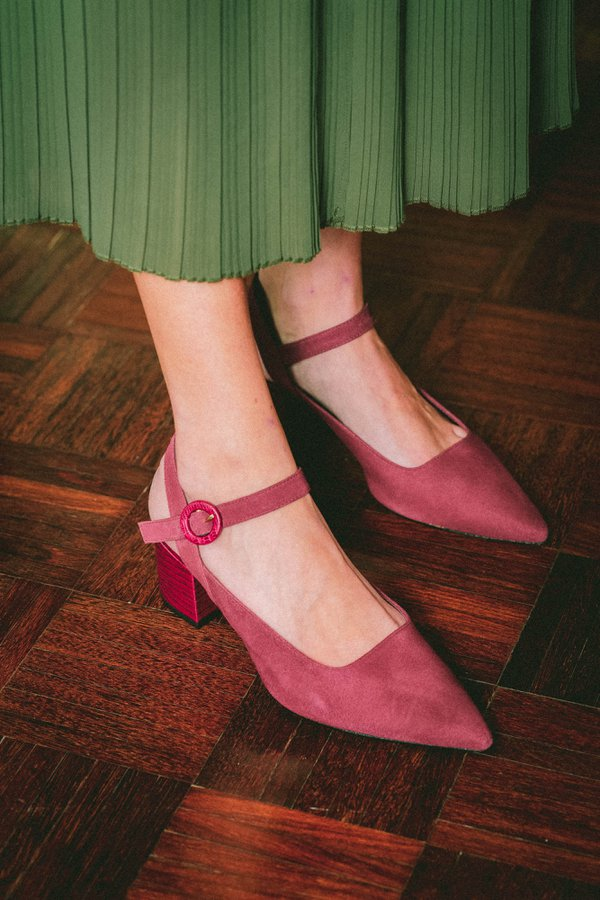 Scarpin Margaret Bordeaux