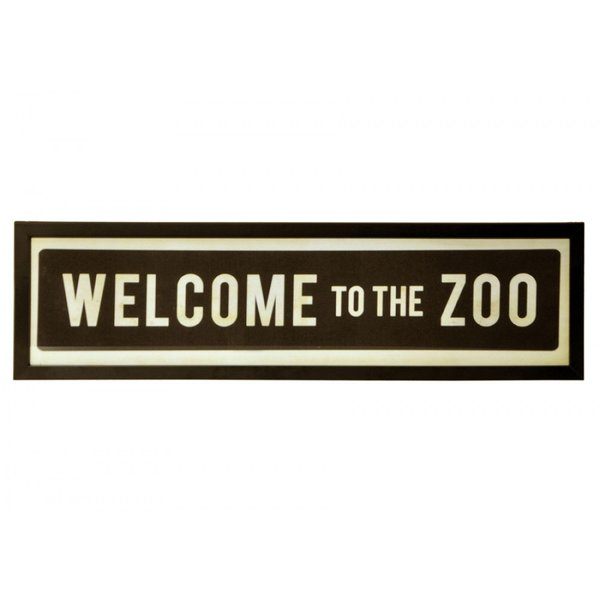 Quadro Welcome to the Zoo