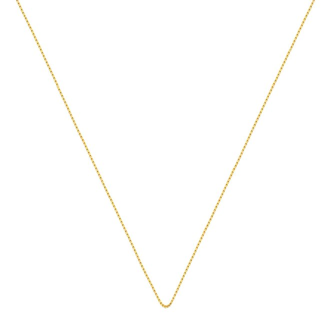 aeda998aad263 Corrente Veneziana 60 cm Folheada a Ouro 18k - New Bijoux