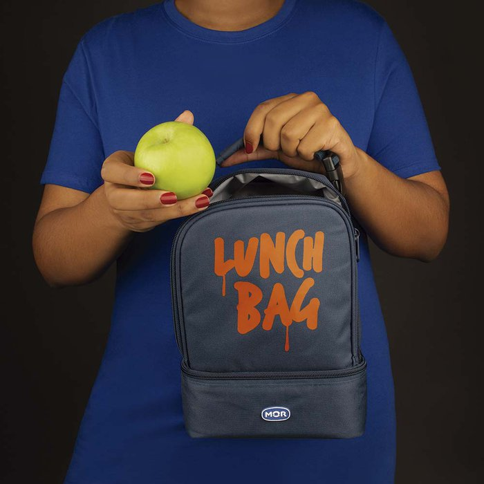 BOLSA TERMICA 06LT LUNCH BAG MOR