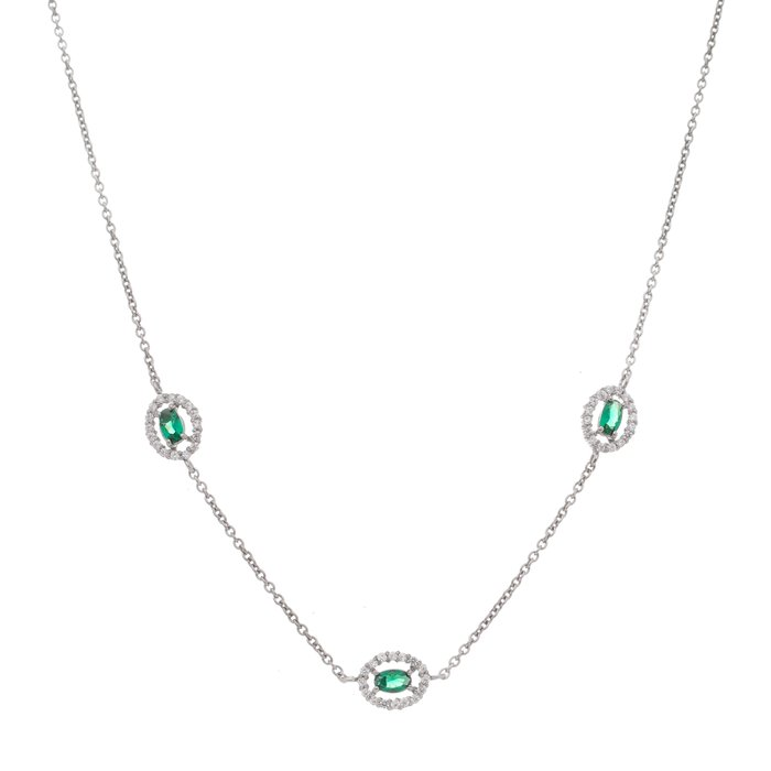 Oval Emeralds