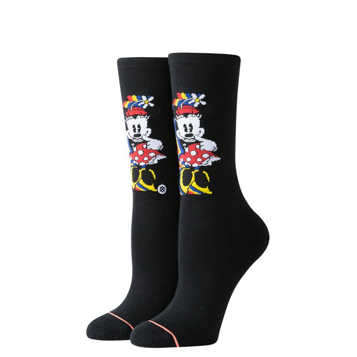 MEIA STANCE DISNEY - TECHNICOLOR MINNIE