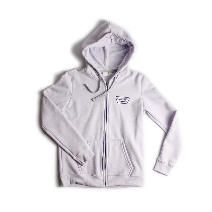 MOLETOM VANS SURROUND ZIP HOOD EVENING HAZE