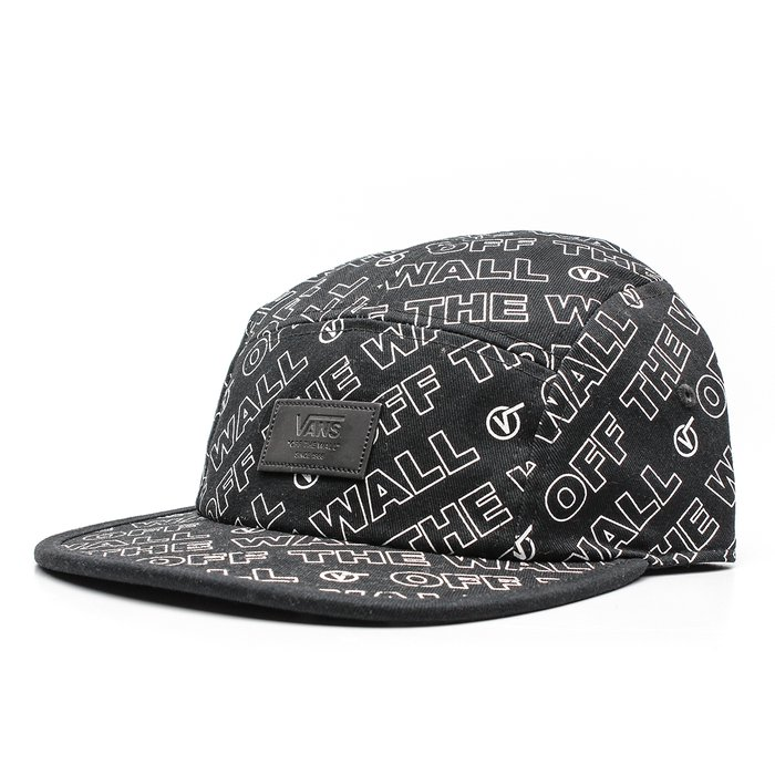 BONÉ VANS DISTORTION 5PANEL BLACK