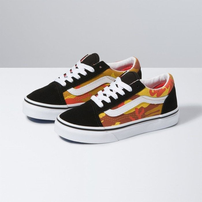 TÊNIS VANS OLD SKOOL DESERT CAMO MULTI/TRUE WHITE