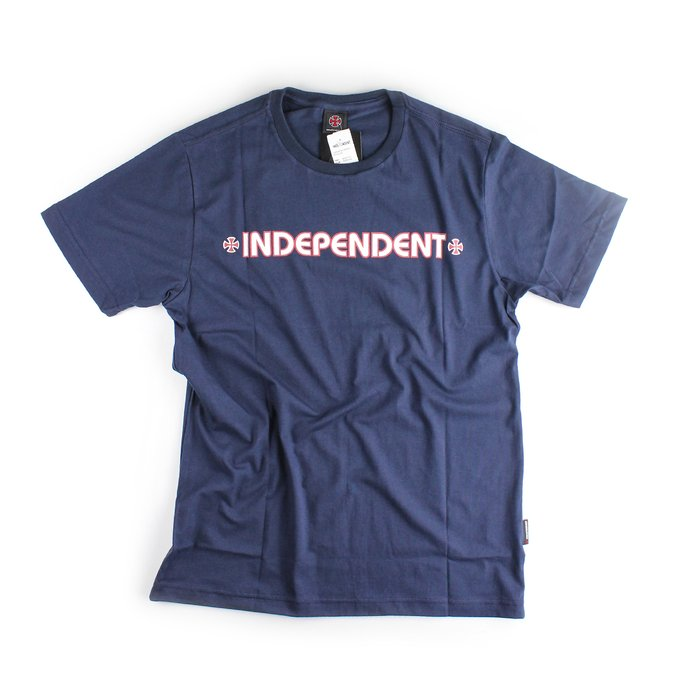 CAMISETA INDEPENDENT CROSS REVOLVE AZUL