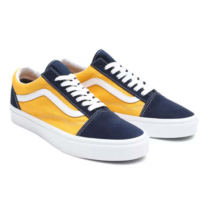 TÊNIS VANS OLD SKOOL (CLASSIC SPORT) DRESS BLUES/SAFFRON
