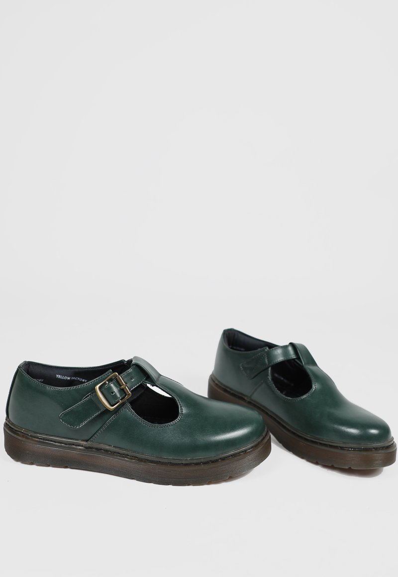 MARY JANE basic - verde musgo (vegan)