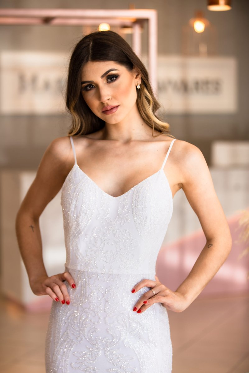 Vestido White Dreams