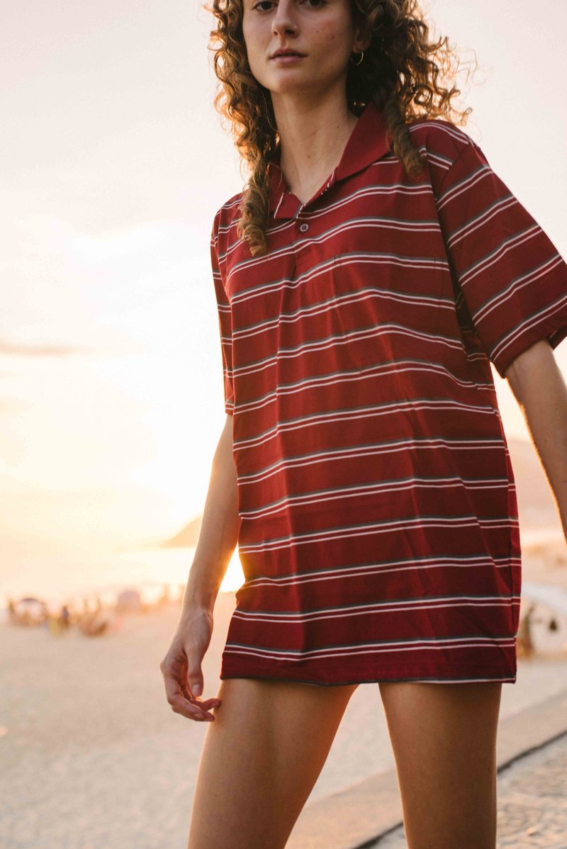 Camisa Zoey Red Wine