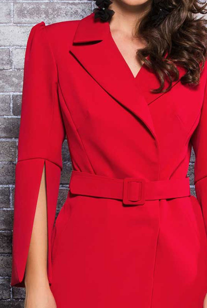 Blazer Vestido Red Passion