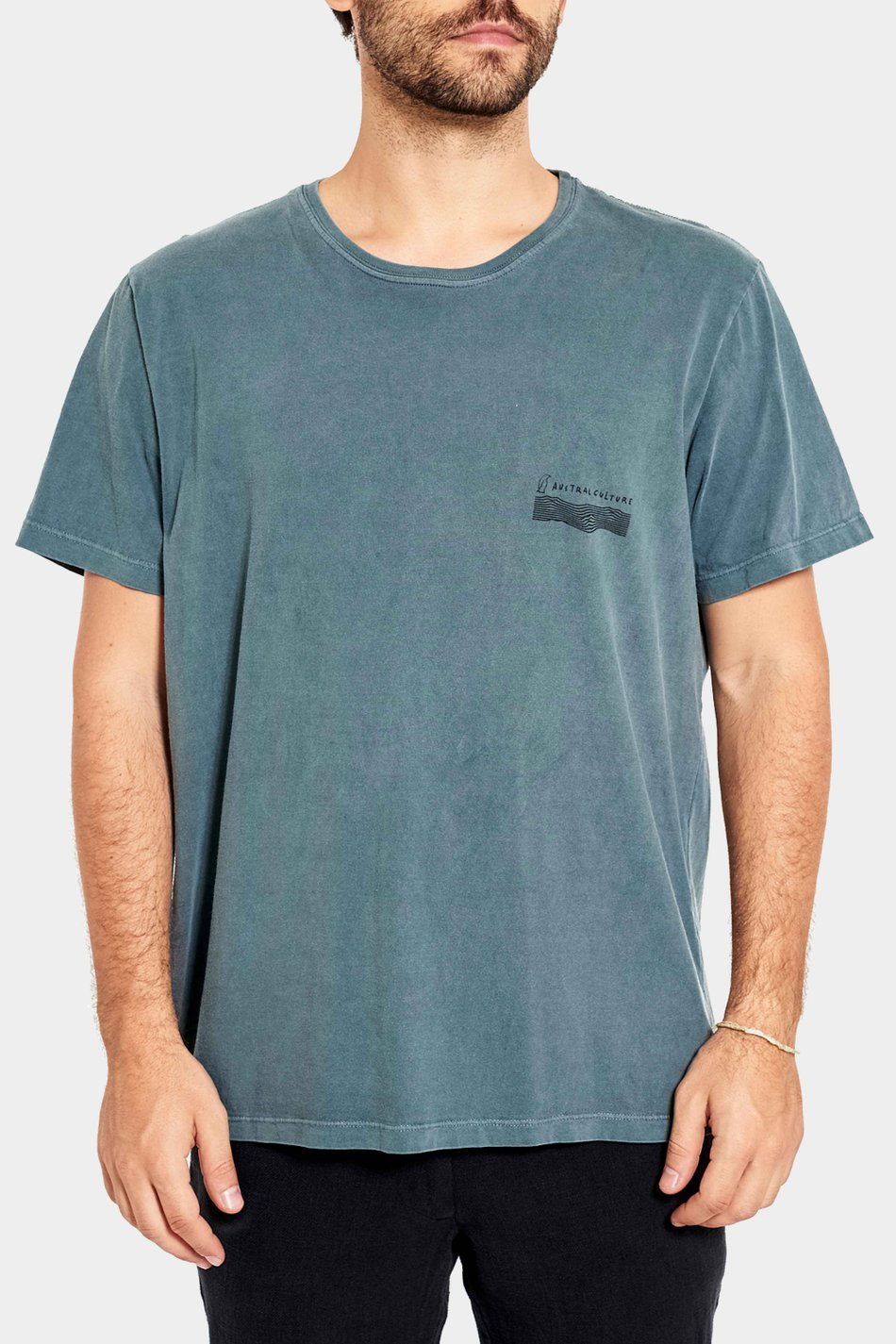 Camiseta Austral High Five Verde Floresta