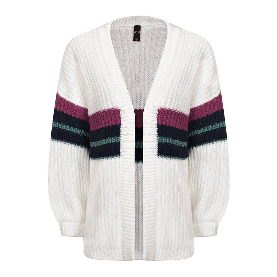 Cardigan Listra Off White - Inverno 21