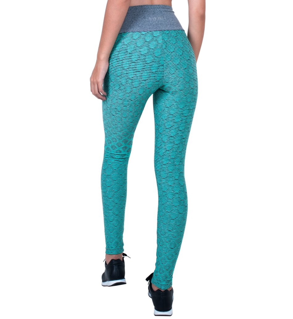 Legging Electron Blue Drops Supplex