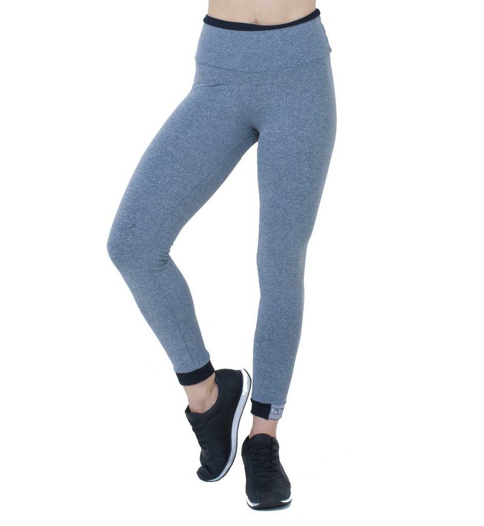 Legging Grey Basic Elastic Supplex