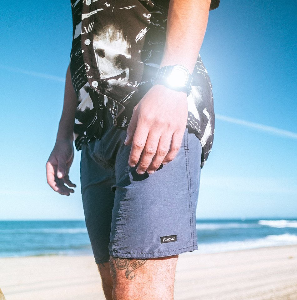 Outside Shorts Azul