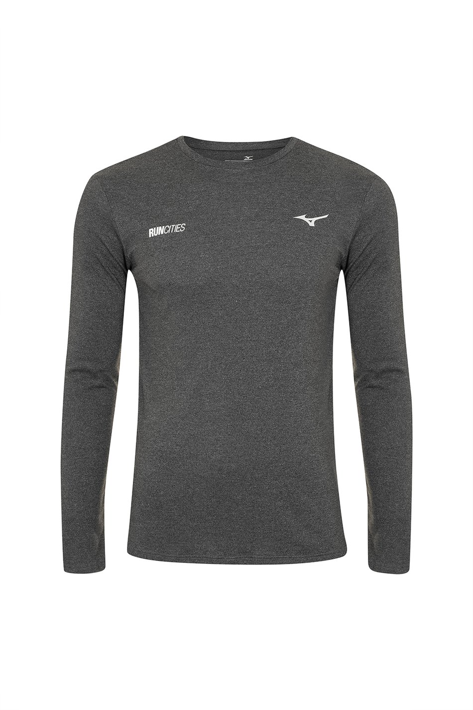 Camiseta Ml Mizuno  Soul Fit Masc