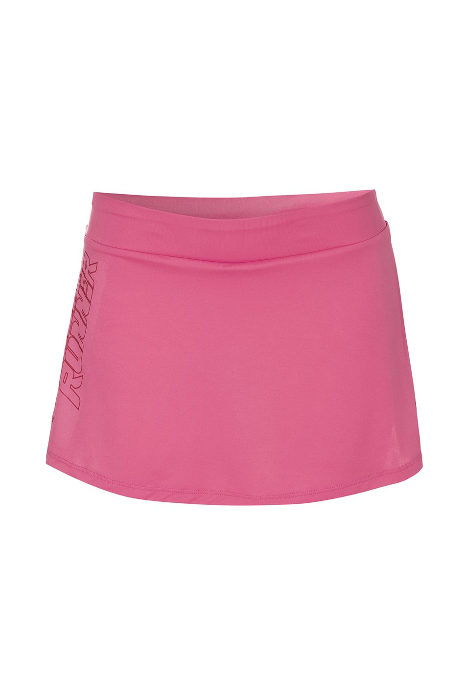 Saia Shorts W Run Rosa Fem