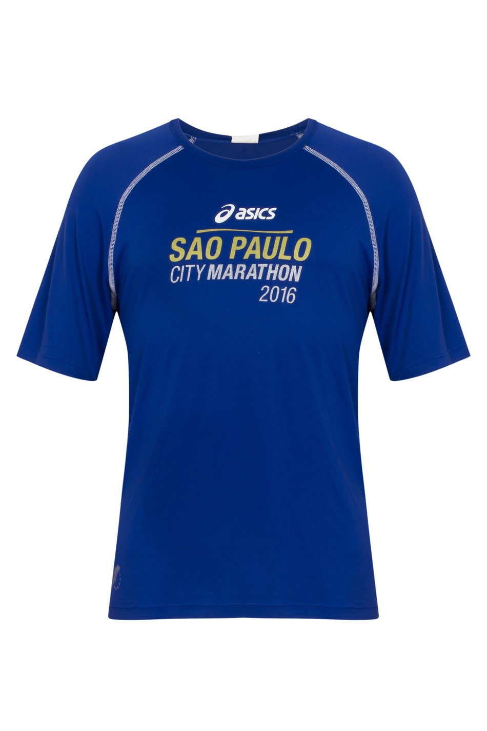 Camiseta SP City Marathon 2016 Azul Masc