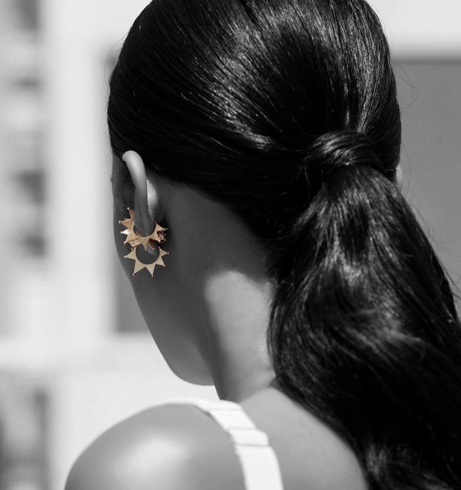Ear Cuff Picadeiro Plated