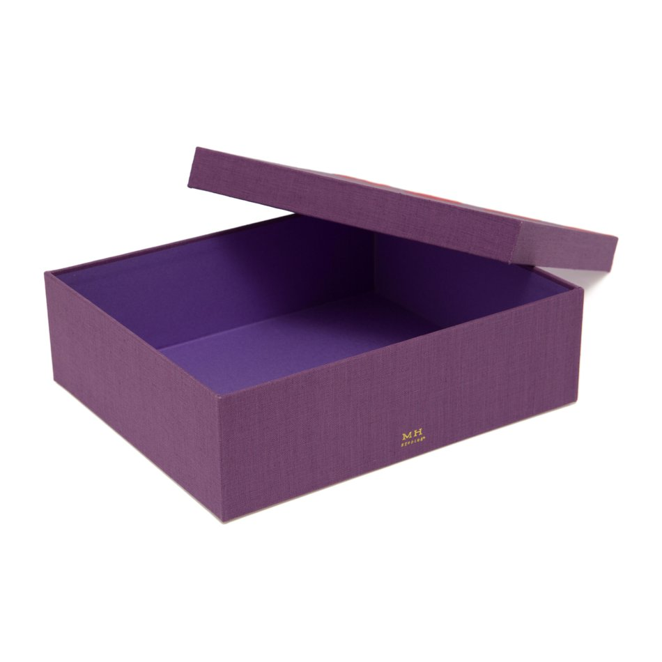 Discollection Sarah Box Roxo