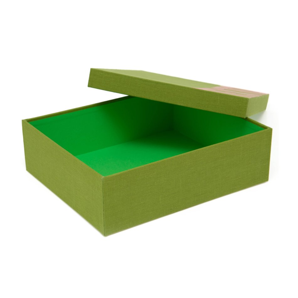 Discollection Sarah Box Verde Folha
