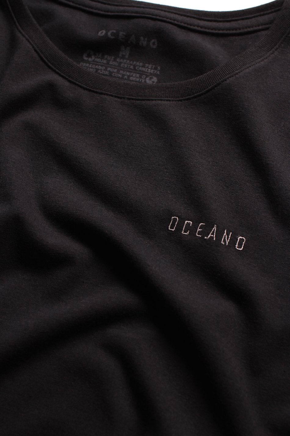 CAMISETA OCEANO SUPER SLIM RECICLE
