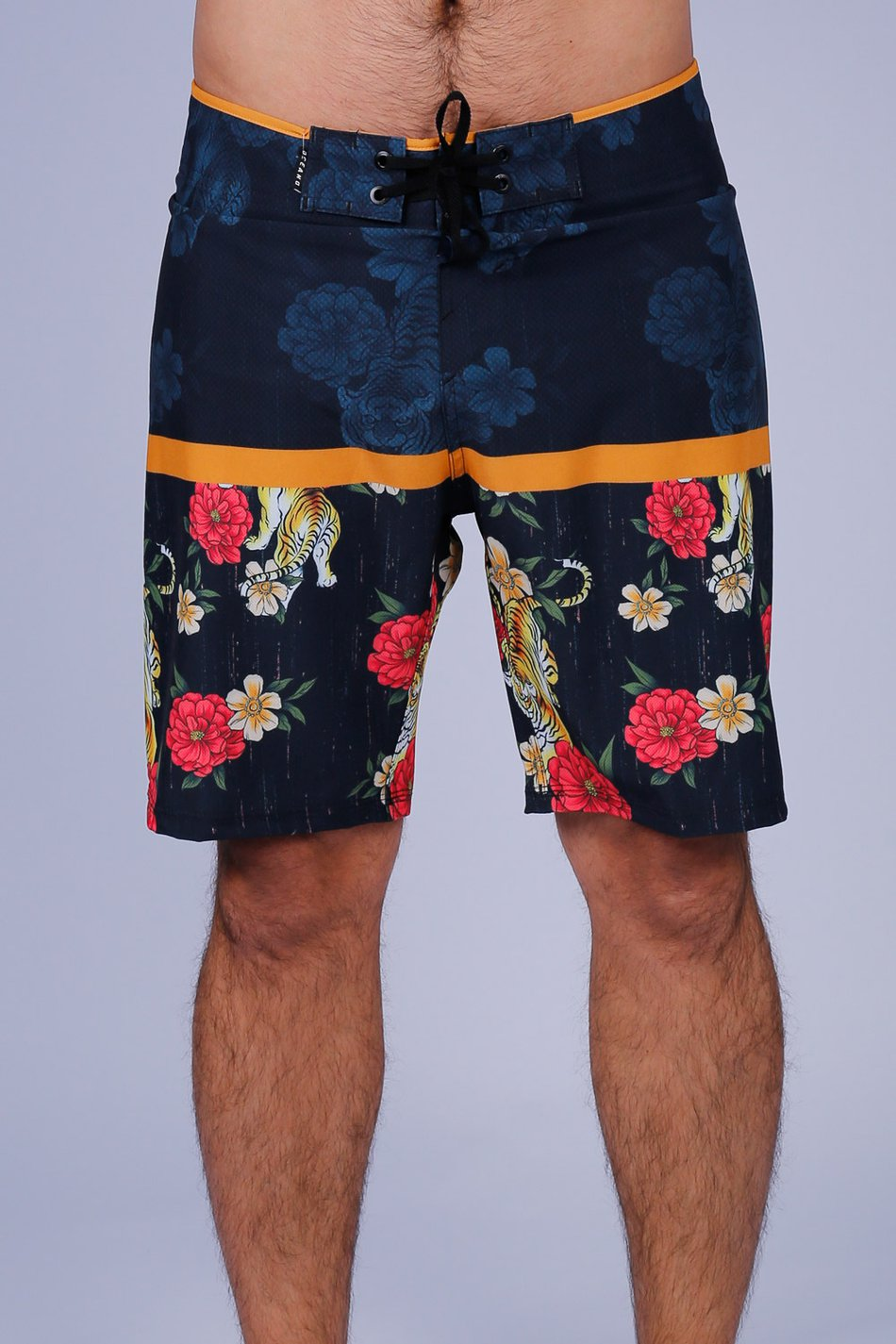 BERMUDA BOARDSHORT TIGRES PERFORMANCE STRETCH OCEANO