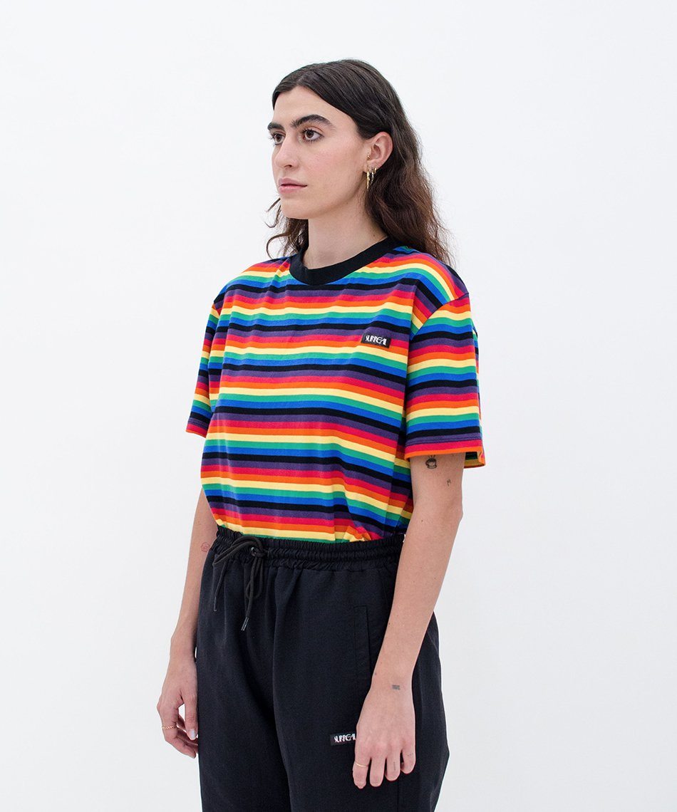 Camiseta Rainbow Stripes
