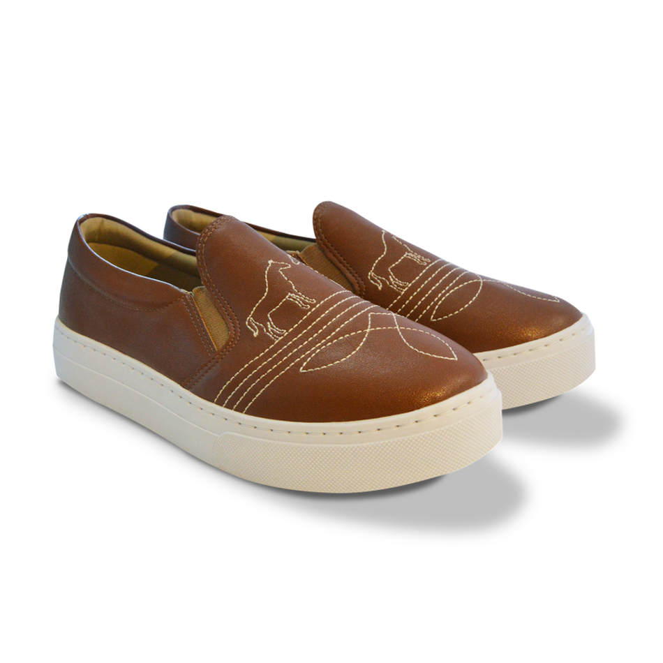 Slip On Country Marrom - Empório Caron