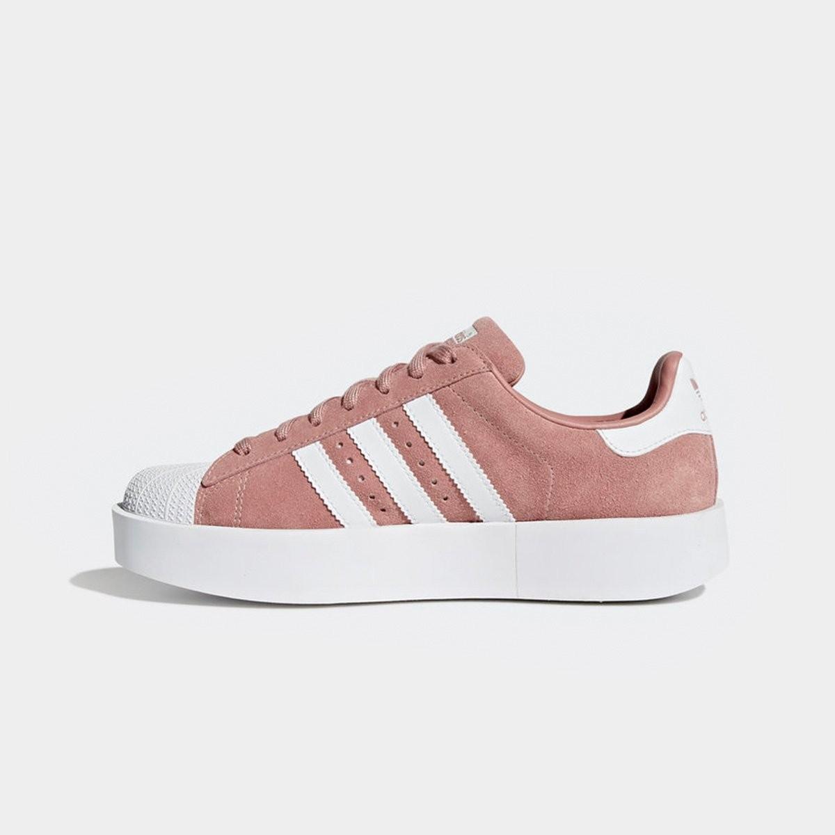 6f34ed998ef Tênis Adidas Superstar Bold Platform Feminino Rosa