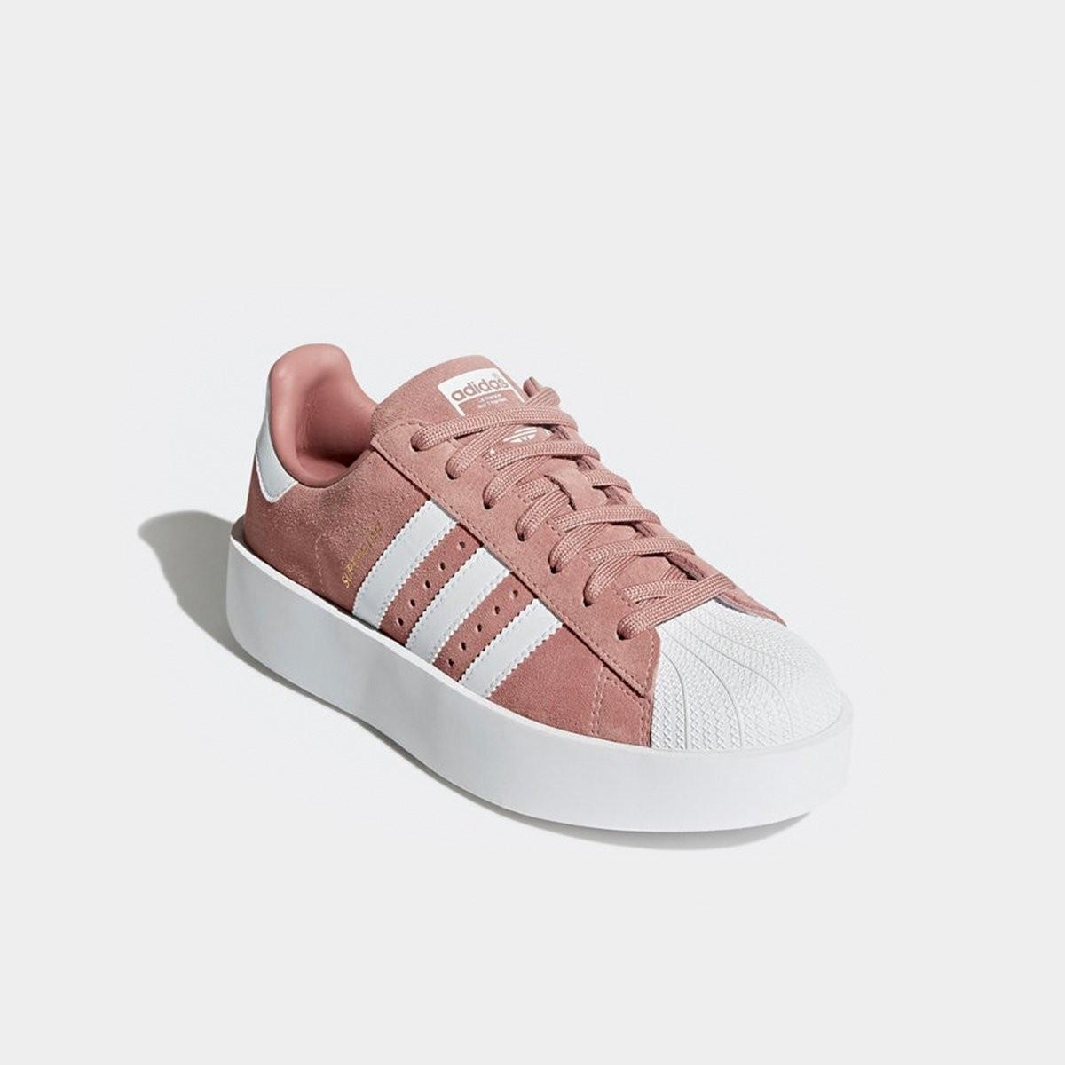 8fc8b1f7c Tênis Adidas Superstar Bold Platform Feminino Rosa