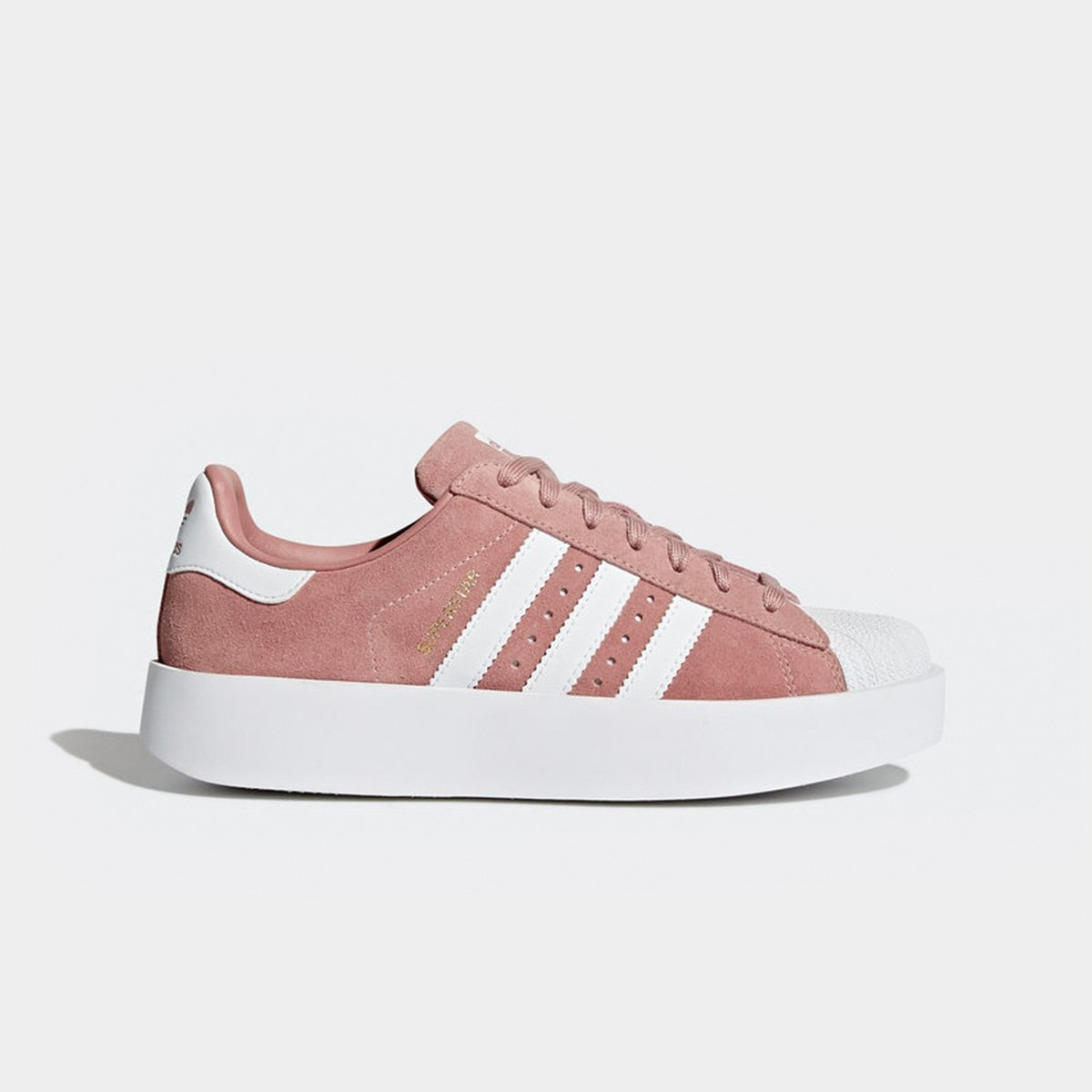 cf0eb82f978 Tênis Adidas Superstar Bold Platform Feminino Rosa