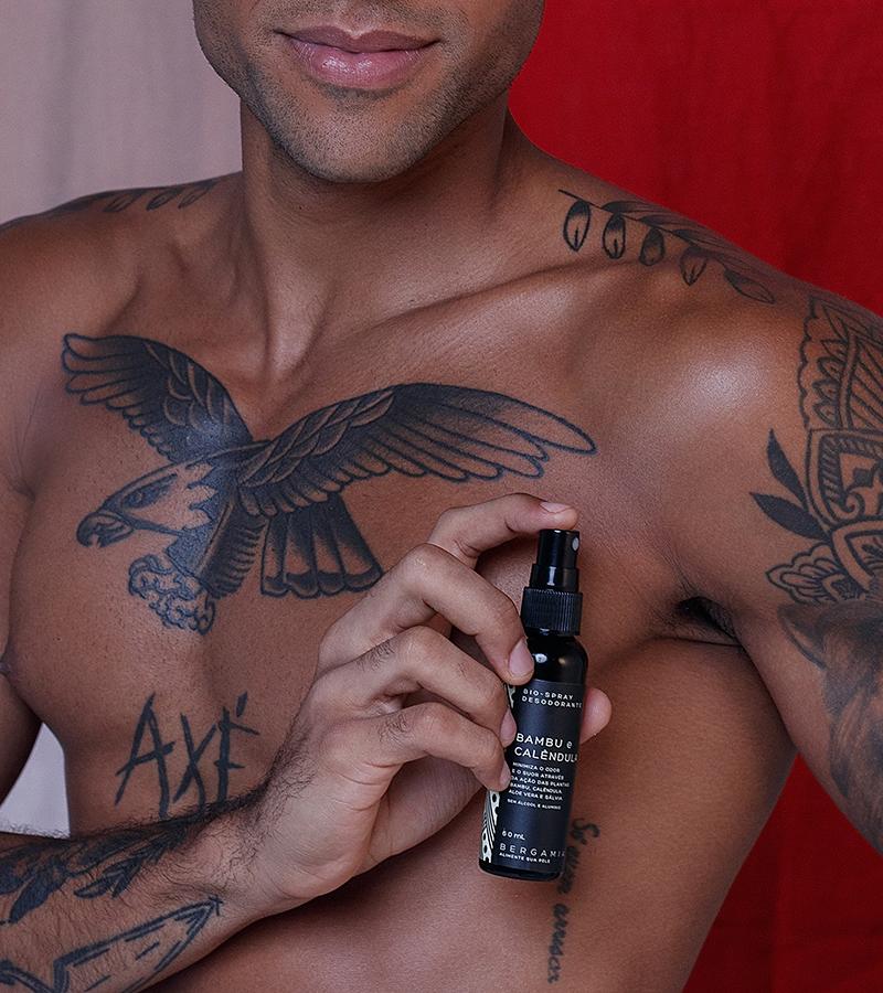 Como aplicar - Bio-Spray Desodorante