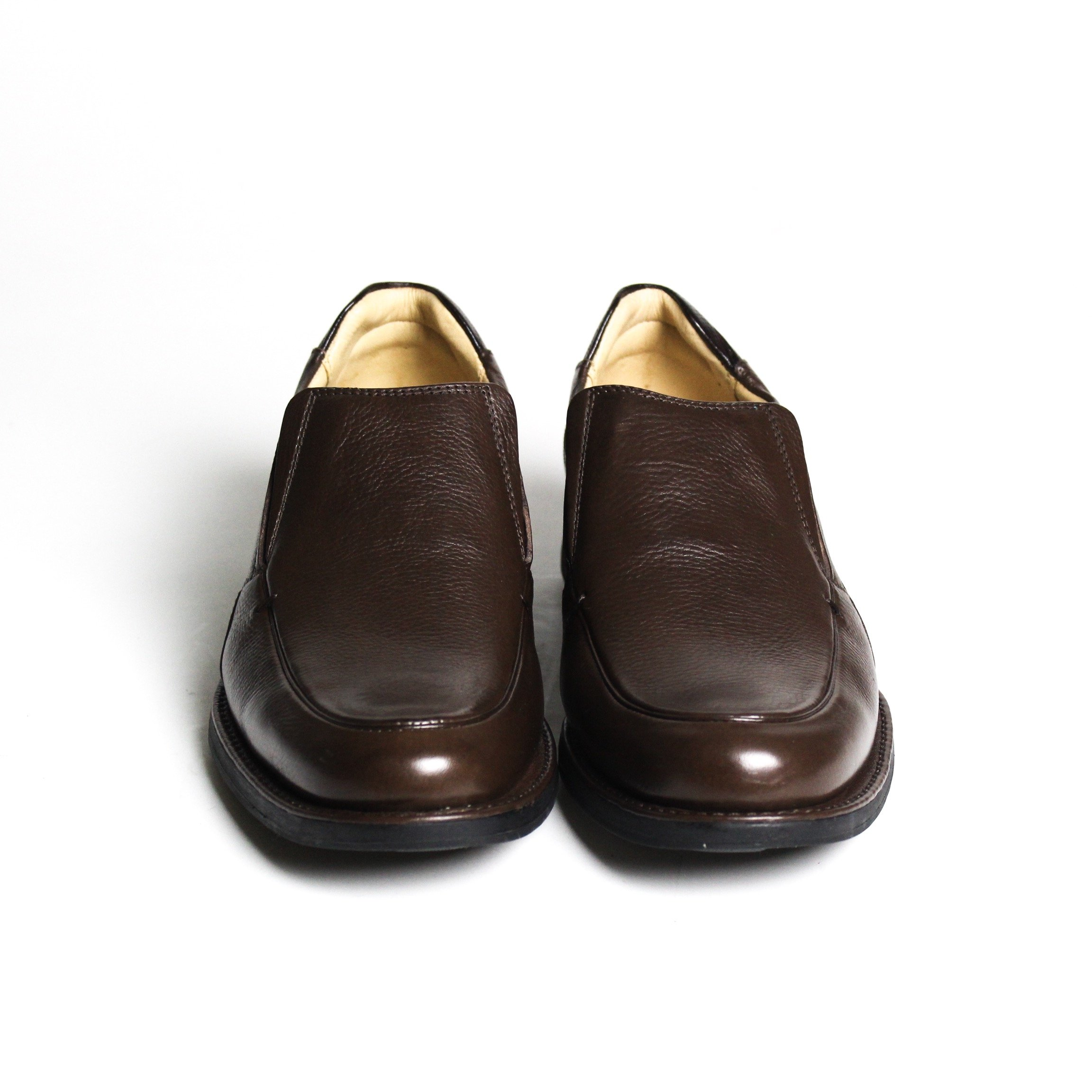 Loafer de couro Cristófoli Troy/Brown