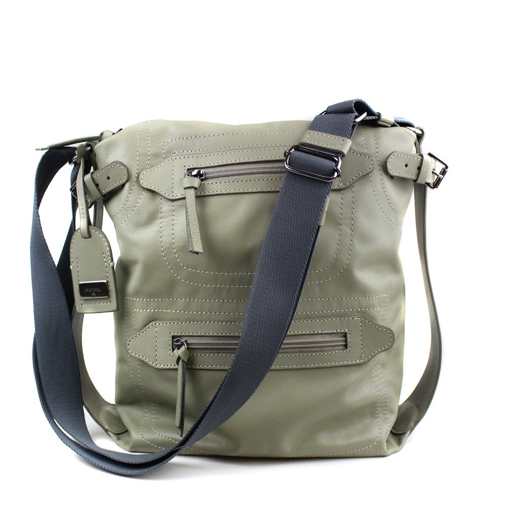 BOLSA CRISTOFOLI CROSS BODY VERDE