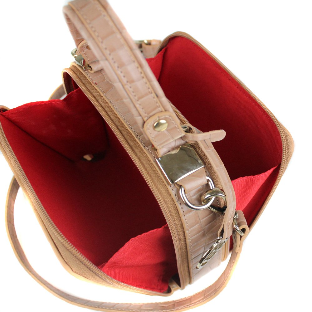 Foto do produto Bolsa Cristofoli Cross Body Terracota