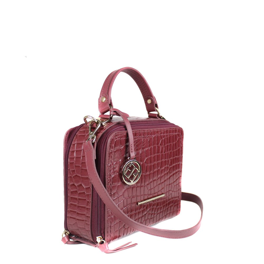 Bolsa Cristofoli Cross Body Marasca