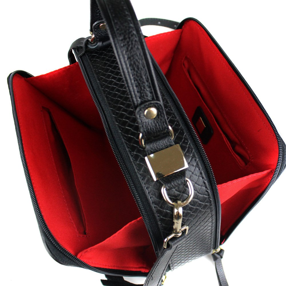 Foto do produto Bolsa Cristofoli Cross Body Preto