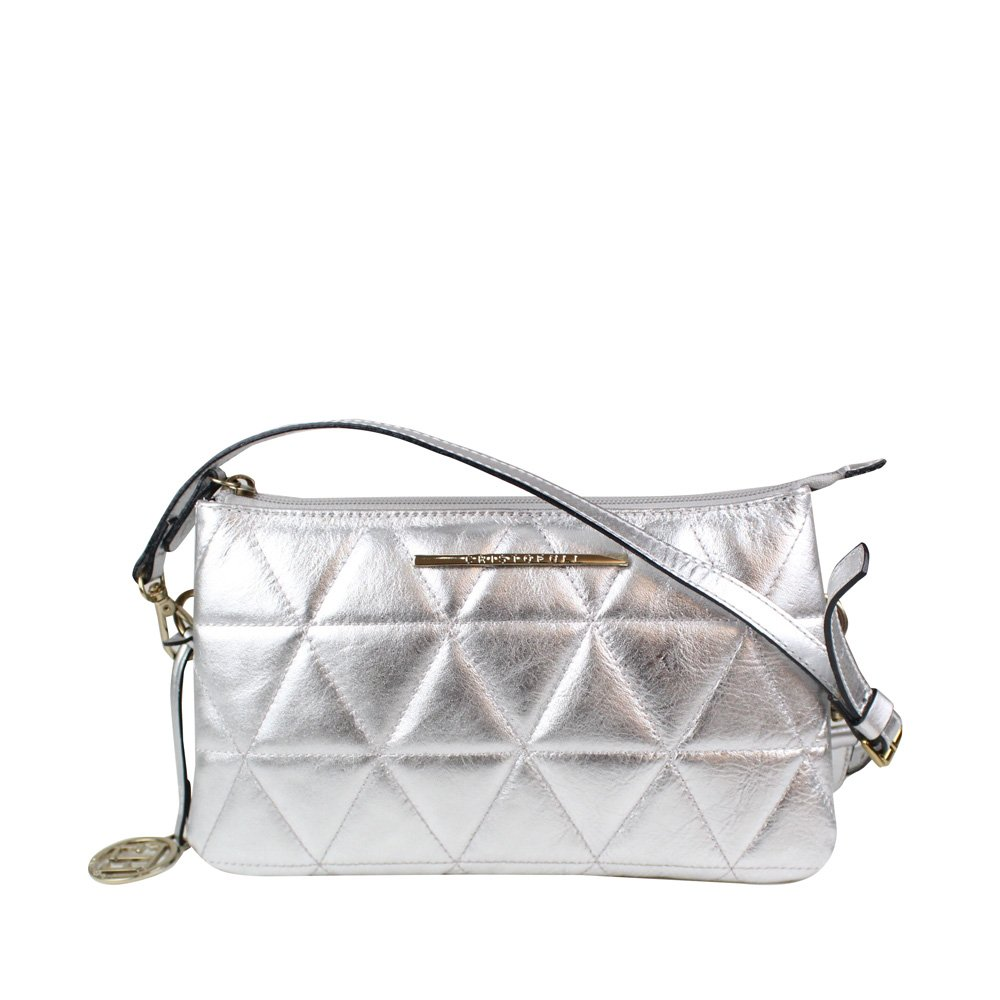 Bolsa Cristofoli Cross Body Prata