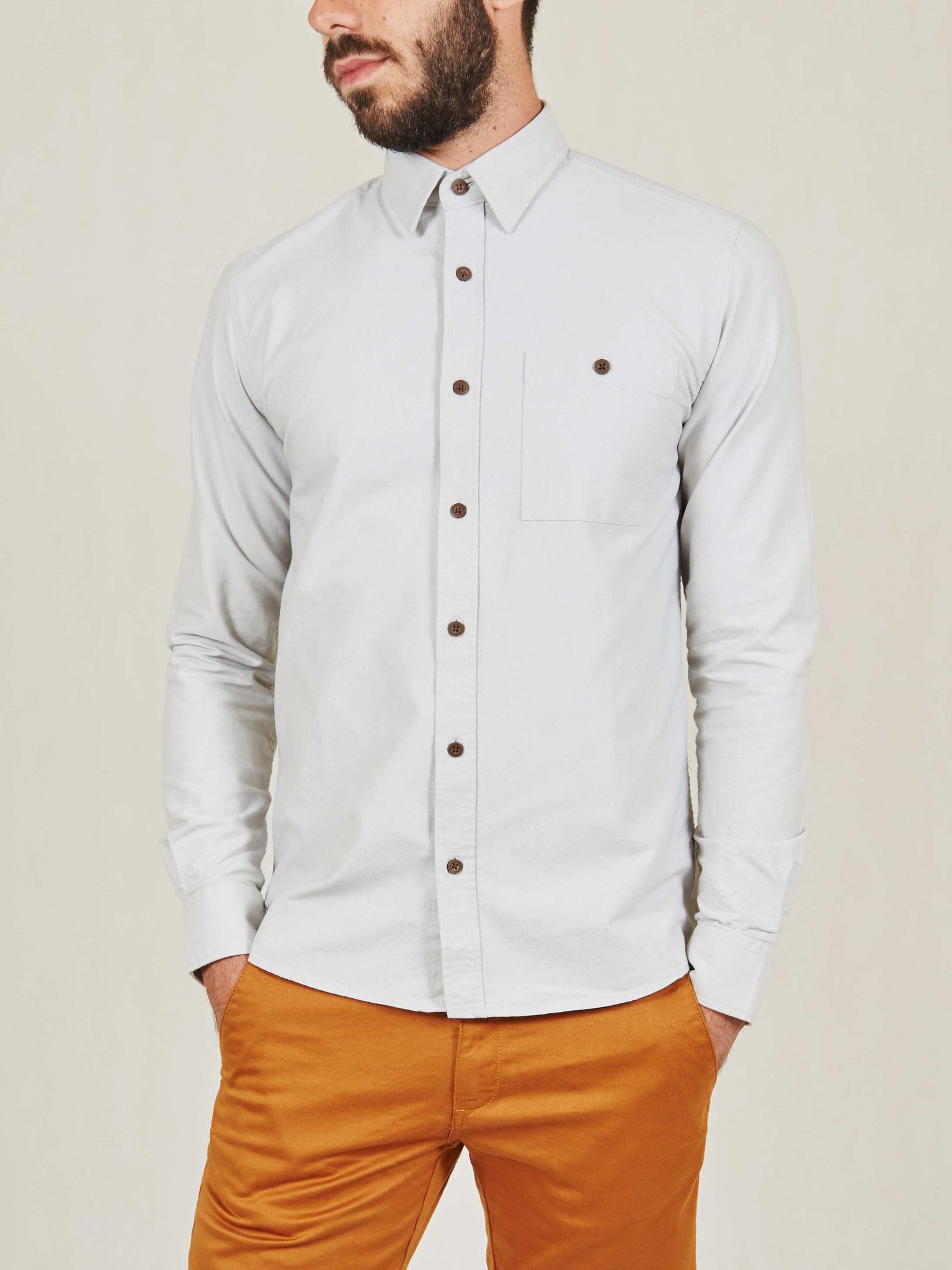 Foto do Camisa Cotton Project Oxford Cinza