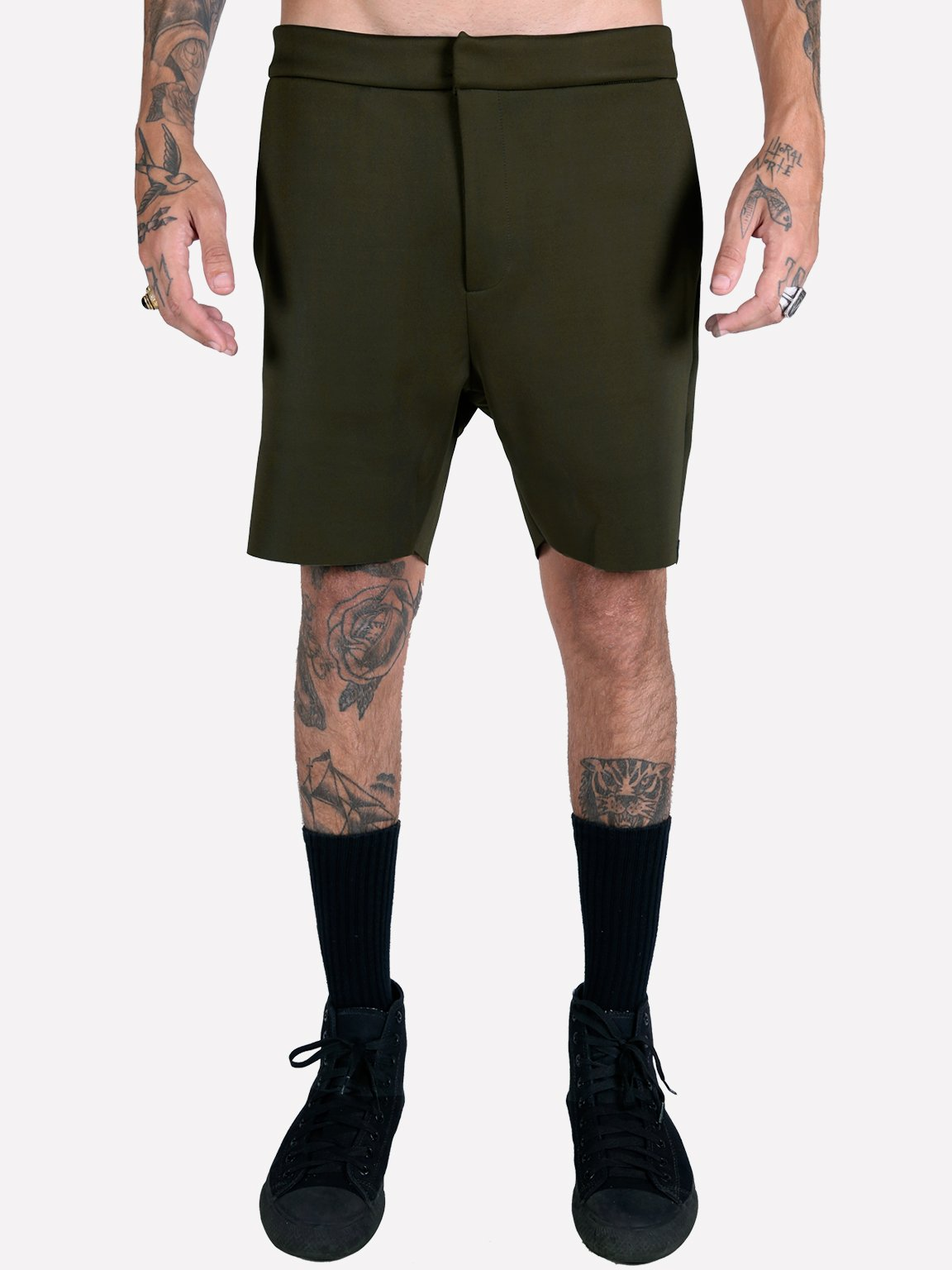 Foto do Shorts Oliv Walkshort Neoprene // Militar