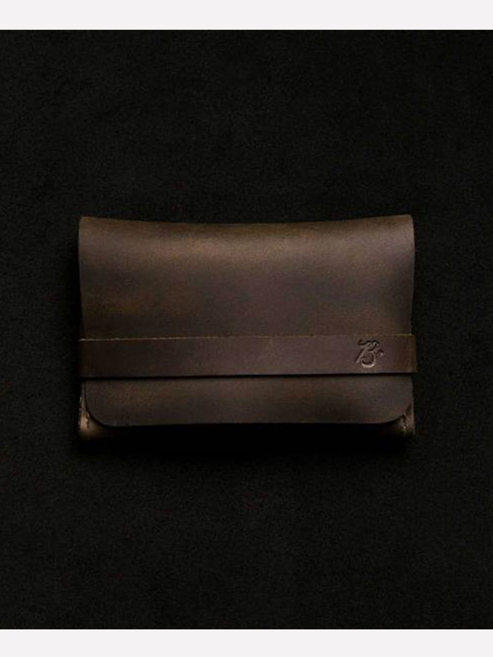 Foto do Carteira Braveman Single Pocket Wallet OLD INDIAN-Solid Brass