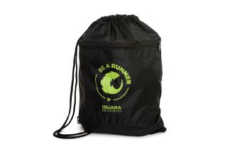 Gym Sack Be A Runner Preta e Verde